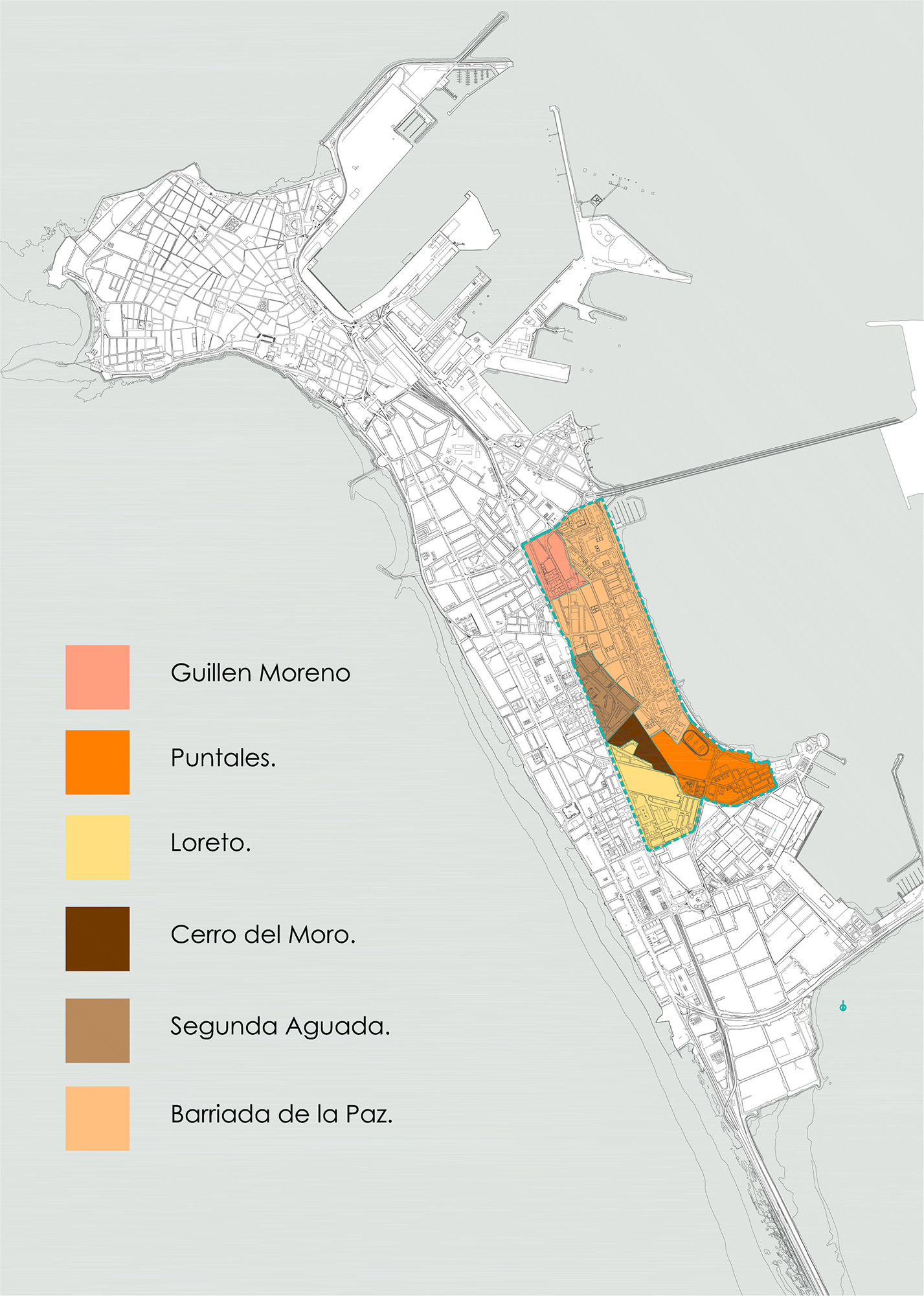 Delimitación de barrios